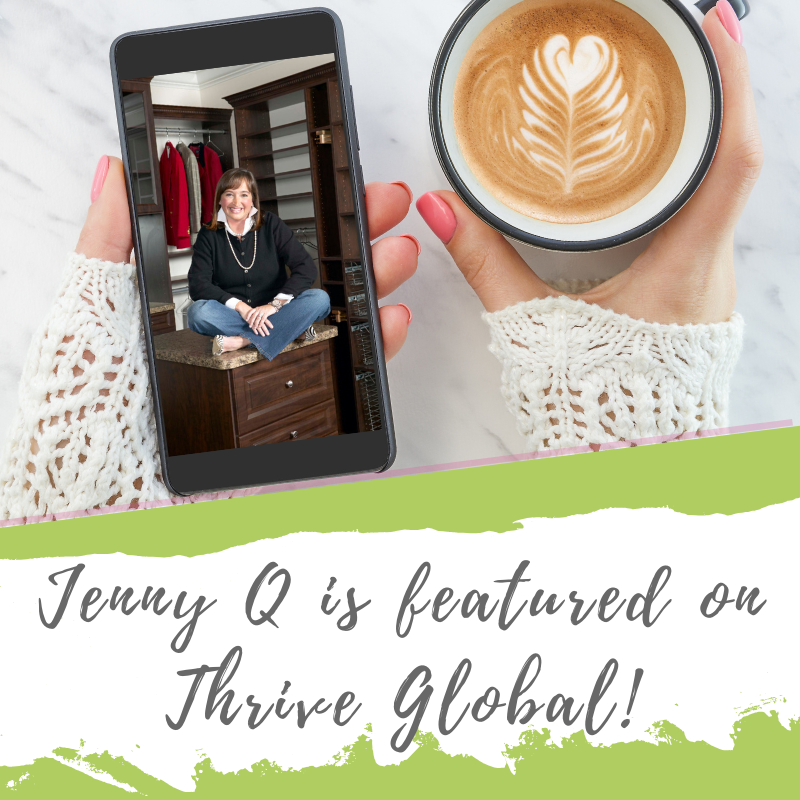 Good news! I am featured on Arianna Huffington's Thrive Global website talking about how I turned my passion into a profitable business.